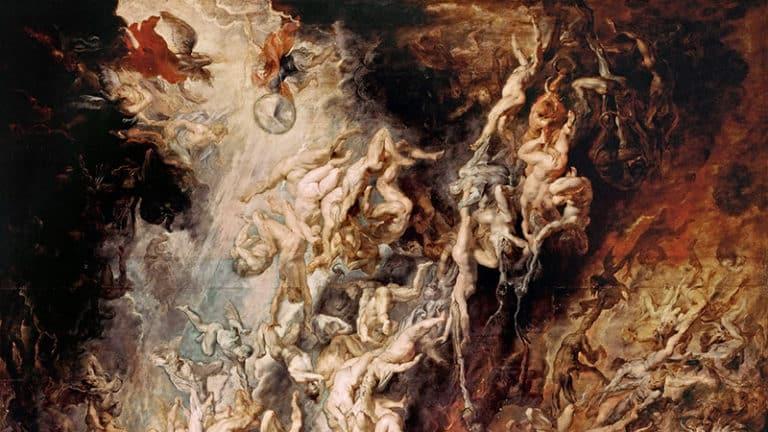 Der Höllensturz der Verdammten von Peter Paul Rubens (um 1620)   Bild: Public domain, via Wikimedia Commons