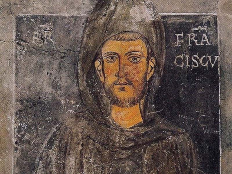 In der Machtlosigkeit war er mächtig: Franz von Assisi   Parzi, Public domain, via Wikimedia Commons